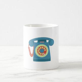 Telephone Basic White Mug