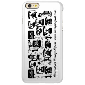 Telephone Black and White or Any Color Background iPhone 6 Plus Case