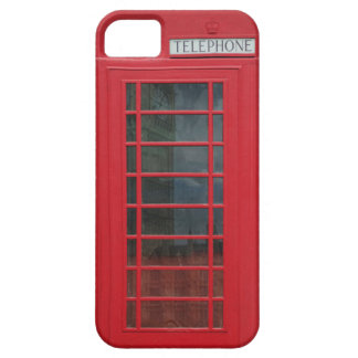 Telephone Booth iPhone 5 Cases