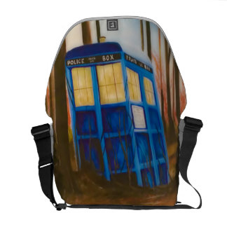Telephone box commuter bags