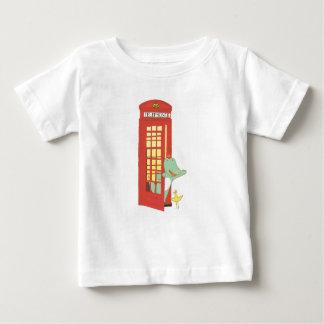 Telephone box, cute animals illustration baby T-Shirt