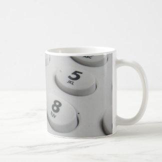 Telephone Dials Coffee Mug