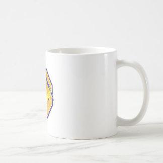 telephone lineman electrician repairman retro basic white mug