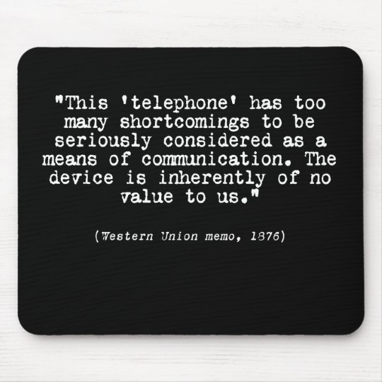 Telephone Mouse Mat
