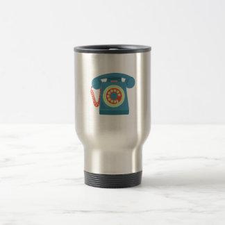 Telephone 15 Oz Stainless Steel Travel Mug