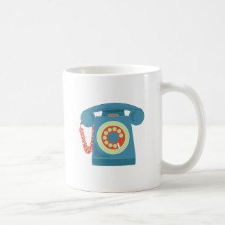 Telephone Classic White Coffee Mug