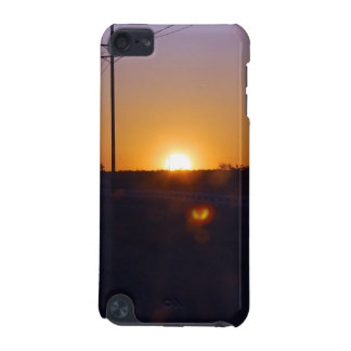 Telephone Poles Sunset iPod Touch (5th Generation) Cases