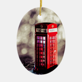 TelephoneBox.jpg Christmas Ornament