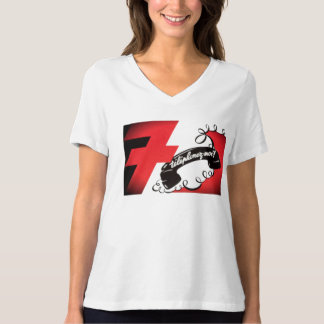 Telephonez-Moi! French Vintage Red Corded Phone T-Shirt