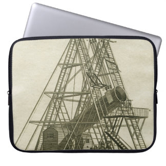 Telescope Antique SCIENCE EQUIPMENT 18TH CENTURY Laptop Sleeve