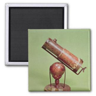 Telescope belonging to Sir Isaac Newton  1671 Square Magnet