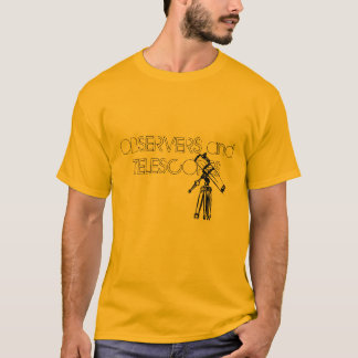 Telescope Drawing T-Shirt