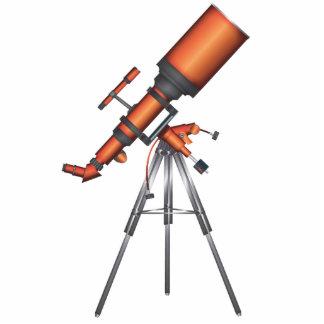 Telescope Photo Sculpture Badge