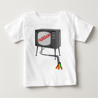 Television Freedom Cut The Cord Infant T-Shirt