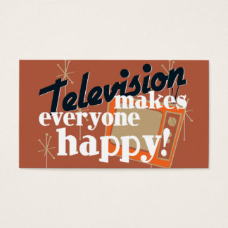 Television Makes Everyone Happy! Copper Brown