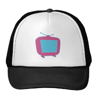 Television neon advertisement tv neon sign hats