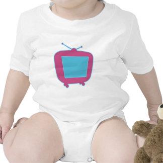 Television neon advertisement tv neon sign tshirts
