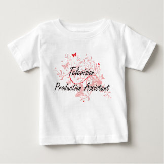 Television Production Assistant Artistic Job Desig Baby T-Shirt