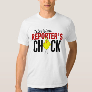 Television Reporter's Chick Tee Shirt