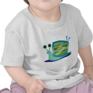 Television snail shirt