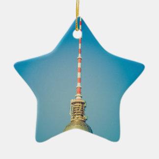Television tower Berlin Ceramic Star Decoration