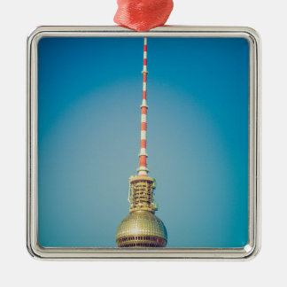 Television tower Berlin Christmas Tree Ornaments