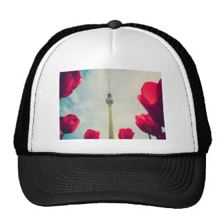Television tower Berlin Mesh Hat