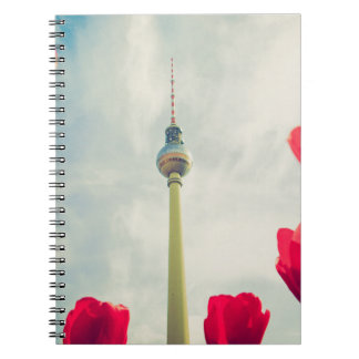 Television tower Berlin Note Book
