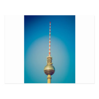 Television tower Berlin Postcard