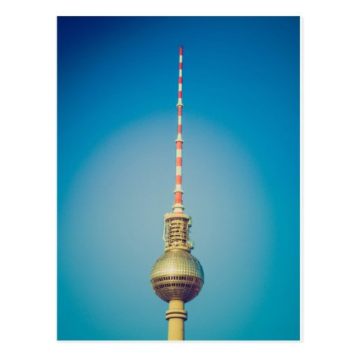 Television tower Berlin Post Card