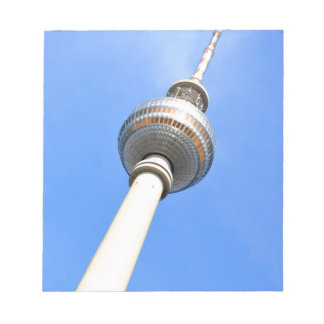 Television Tower (Fernsehturm) in Berlin, Germany Notepads