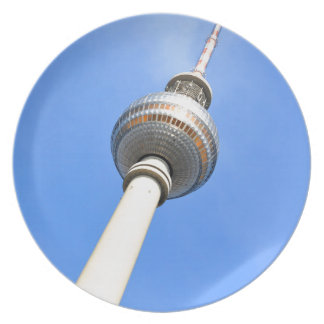 Television Tower (Fernsehturm) in Berlin, Germany Plates