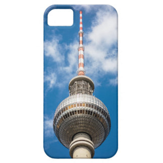 Television tower in Berlin (Germany) iPhone 5 Cases