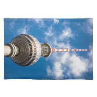 Television tower in Berlin (Germany) Place Mats