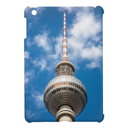 Television tower in Berlin (Germany) Case For The iPad Mini