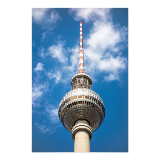 Television tower in Berlin (Germany) Photo Art