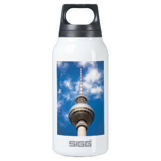 Television tower in Berlin (Germany) 10 Oz Insulated SIGG Thermos Water Bottle