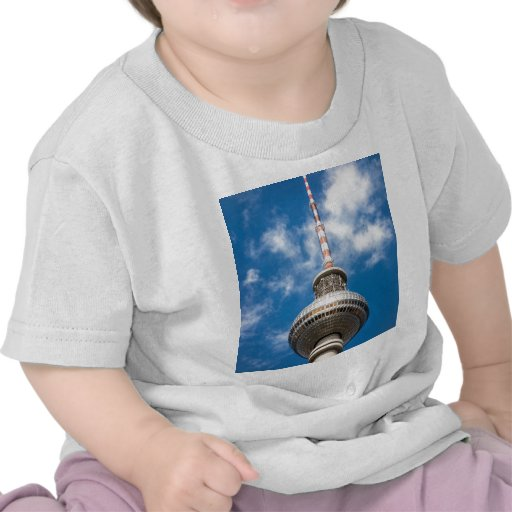 Television tower in Berlin (Germany) Tshirts