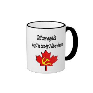 tell me again ringer coffee mug