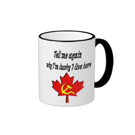 tell me again coffee mug