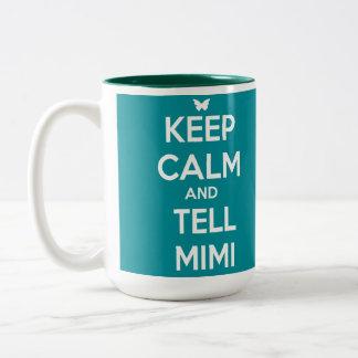 TELL Mimi Two-Tone Mug