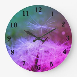 Tell the time with a Dandilion Clock
