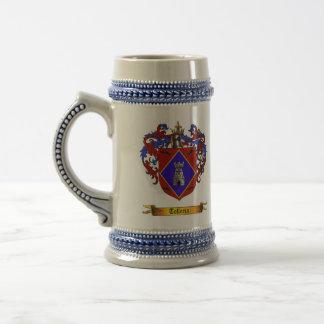 Telleria (de Legazpia) Shield of Arms 18 Oz Beer Stein