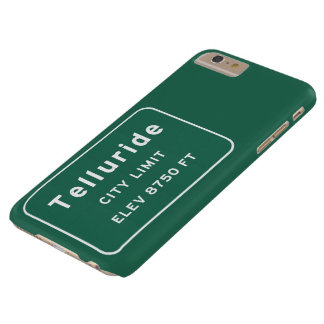 Telluride Colorado co Interstate Highway Freeway : Barely There iPhone 6 Plus Case