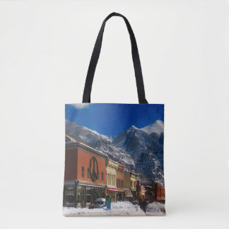 Telluride, Colorado landscape photograph Tote Bag