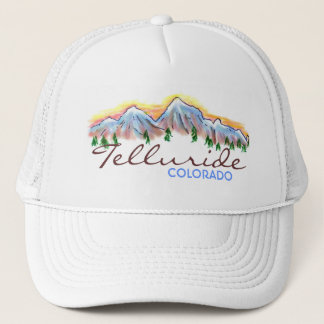 Telluride Colorado mountain art hat