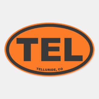 Telluride Colorado Oval Sticker