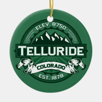 Telluride Forest Christmas Ornament