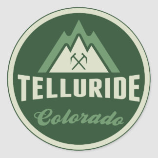 Telluride Green Mountain Logo Sticker