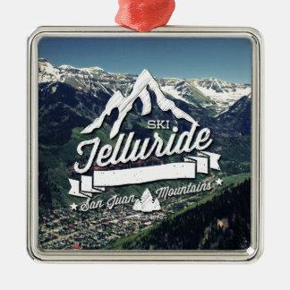 Telluride Mountain Vintage Christmas Ornament